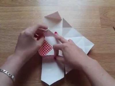 Caja para packaging de origami