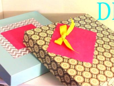 Cajas para Regalos - Gift Boxes - Scrapbook Paper