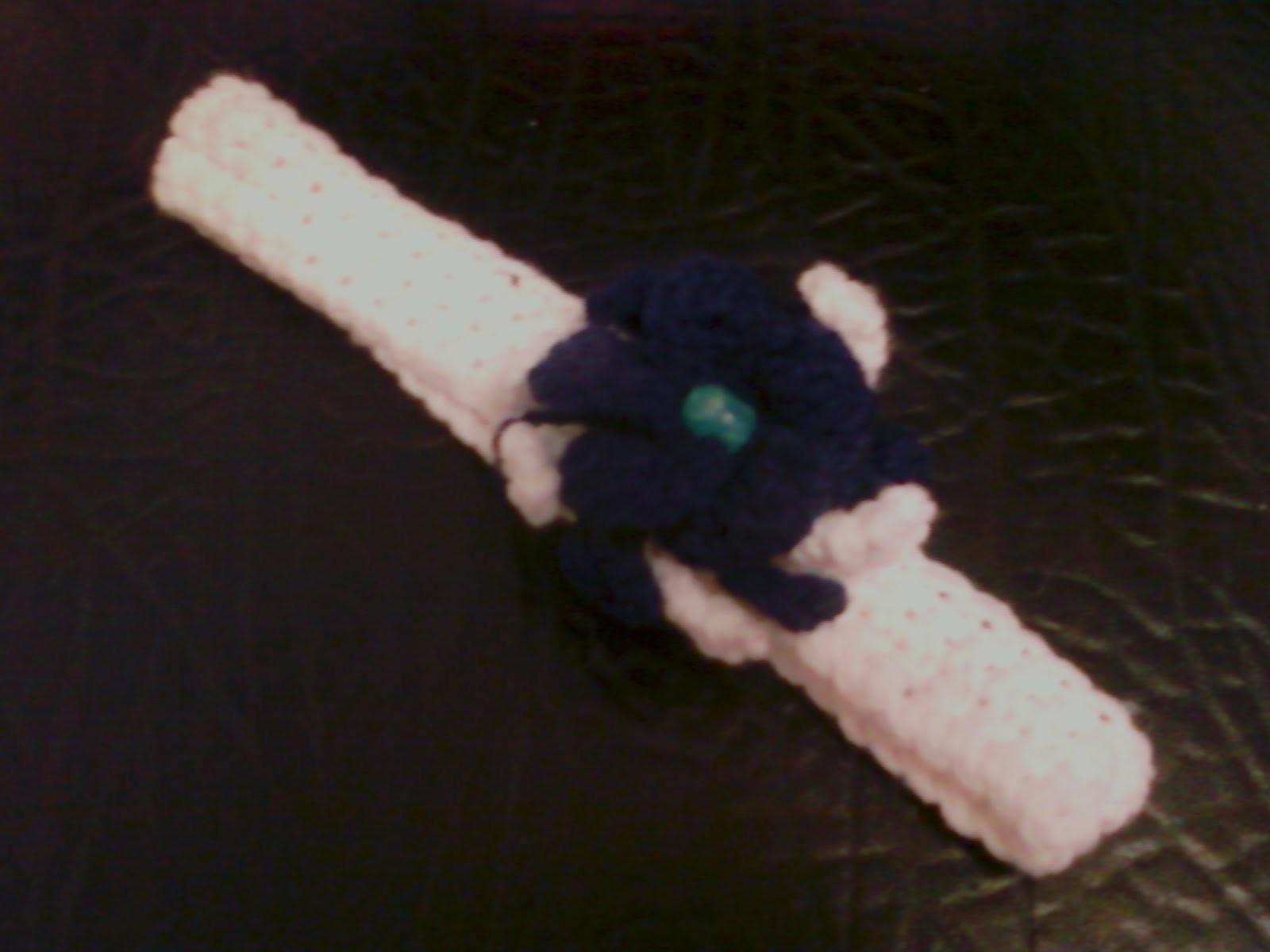 Cintillo con flor  (1ra parte) -Cintillo en medios puntos -Tutorial de tejido crochet