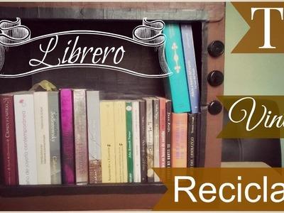 DIY! Librero Vintage ♥  Reciclado