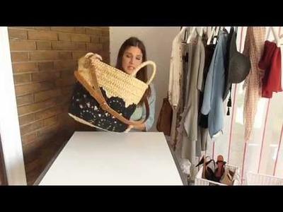 DIY  Personaliza tu bolso de playa