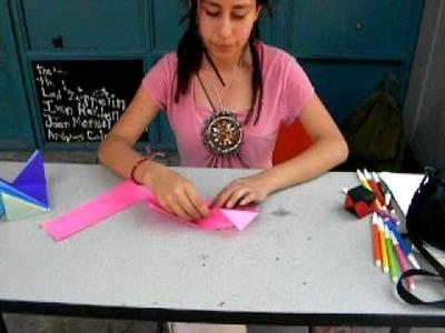 Elaboración de un cubo de papel