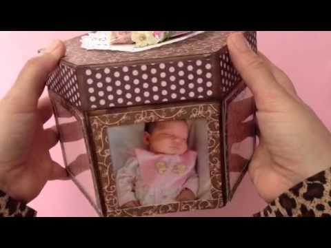 Keepsake box SCRAPBOOK Desing team project
