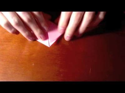 Marcapáginas Origami