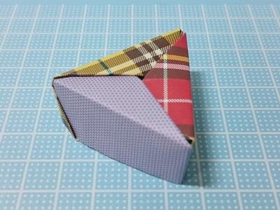 Origami Facil Caja Paso a Paso! Tres Colores Origami Modular