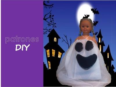 Patrones DIY: Tutorial disfraz Halloween, FANTASMA