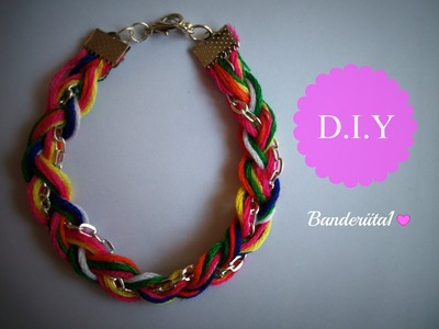 Pulsera Original Tutorial DIY