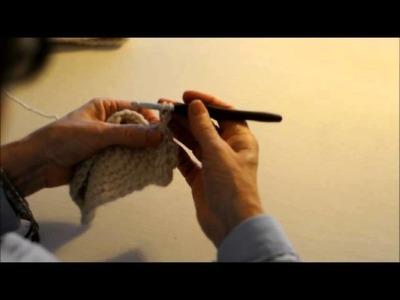 Punto de espiga o Punto Trenza. Tutorial Crochet