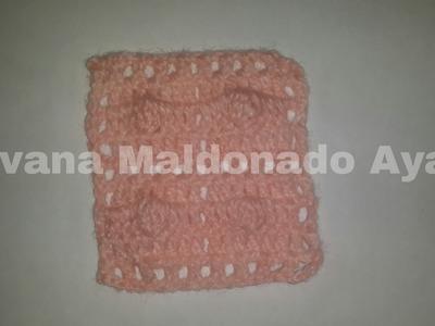 Puntos de Crochet, Punto Facil Para Mantita de Bebe