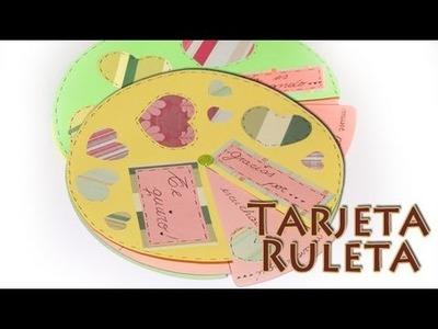 Tarjeta Ruleta - DIY - Roulette Card