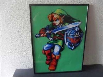 The Legend Of Zelda, Link hama beads mini