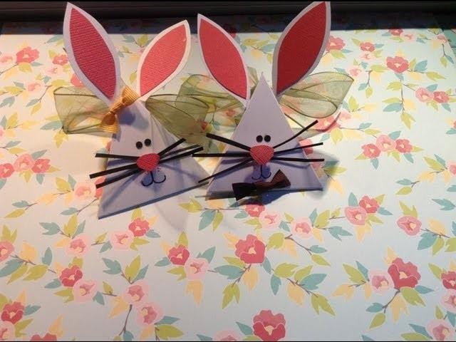 TUTORIAL Conejos de primavera.Easter bunny