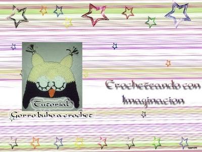 Tutorial: Gorro Buho a crochet