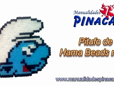 Tutorial pitufo Hama Beads mini