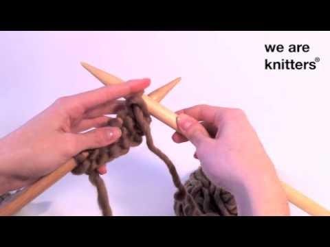 Aprender a tejer: ¿Cómo tejer punto jersey?