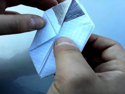 Como hacer un Pikachu de origami.