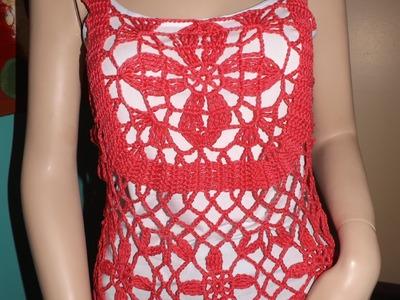 Crochet Blusa De Verano Jasmin Parte 3 De 3