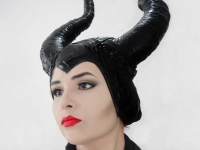 DIY♥Como hacer los Cuernos de Malefica♥Maleficent Horns