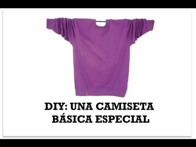 DIY Customiza camiseta con cuello Peter Pan