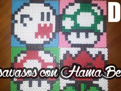 DIY - Posavasos de Mario con hama beads (Sorteo)