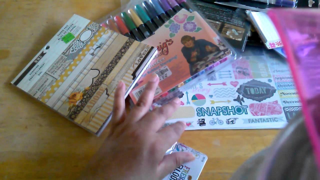 Haul scrapbook mayo & minialbum