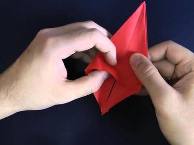 Origami | Hacer un cangrejo, muy fácil