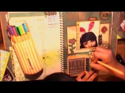 TUTORIAL SCRAPBOOK ♥ SMASH BOOK ♥ • Haz una pagina conmigo • Pascua
