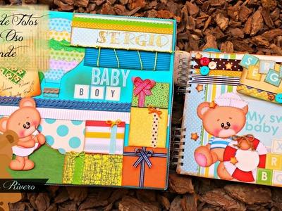 Album de Fotos para Bebes, Ositos Proyecto Scrapbook