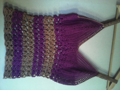 Blusa tejida crochet parte 2