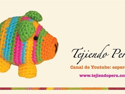 Chanchito tejidos en crochet  (amigurumi) Parte 2: terminando el cuerpo