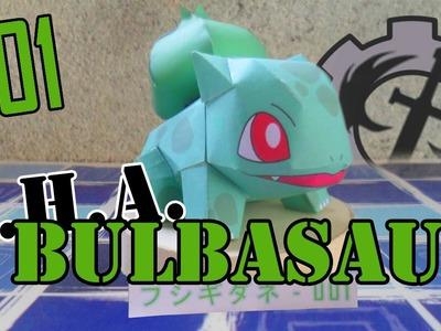 Como hacer a.     Bulbasaur papercraft