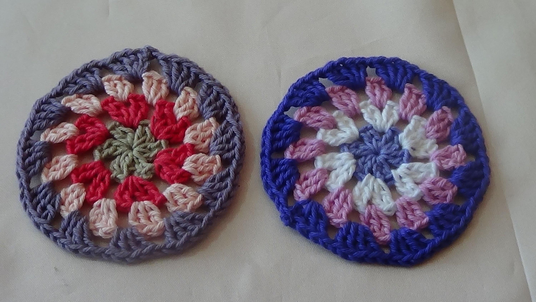 Crochet: Círculo estilo granny (granny-style circle)