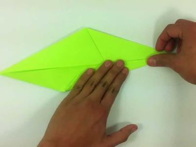 Flor de papel - Rosa de origami