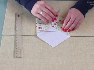 Sobre de origami paso a paso