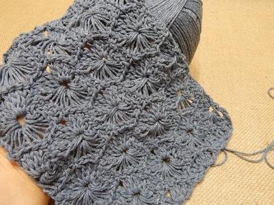 Tutorial Crochet Tejido Circulos Reversibles