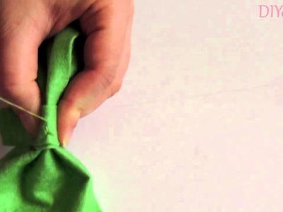 Tutorial DIY Como hacer un lazo de fieltro fácil y rápido.