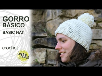 Tutorial Gorro Básico Crochet o Ganchillo