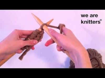Aprender a tejer: ¿Cómo tejer punto derecho?