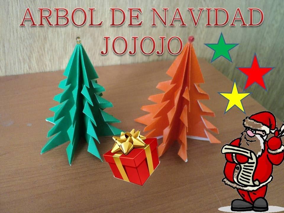 Árbol de Navidad (Origami) | Decoracion navideña DIY HD