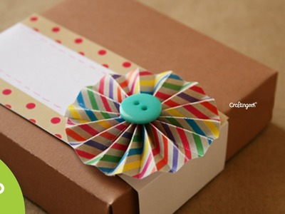Caja de pizza: para regalo original. Pizza box DIY
