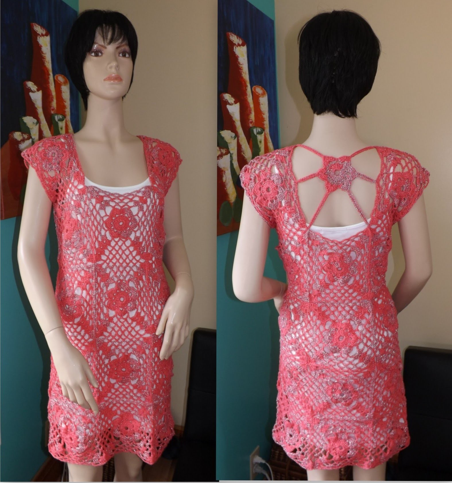 Crochet Vestido De Verano