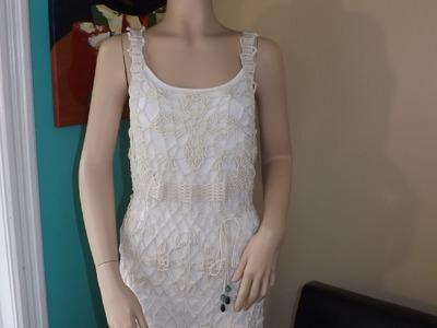 Crochet Vestido De Verano Jasmin
