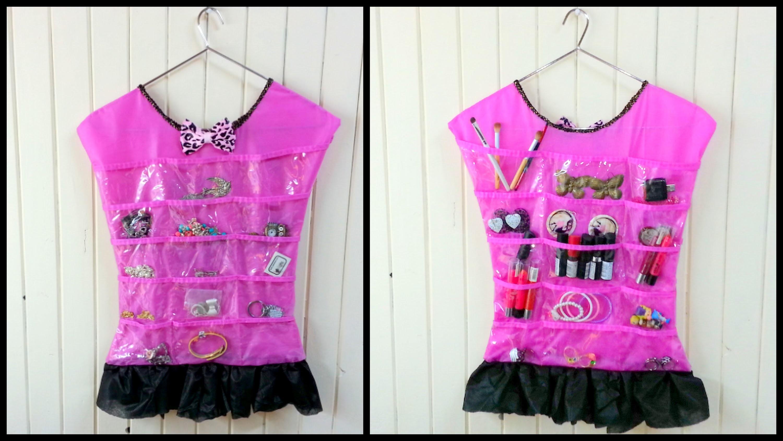 Diy:vestido organizador dress organizer