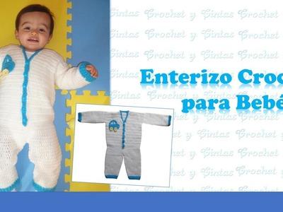 Enterizo Crochet para Bebés