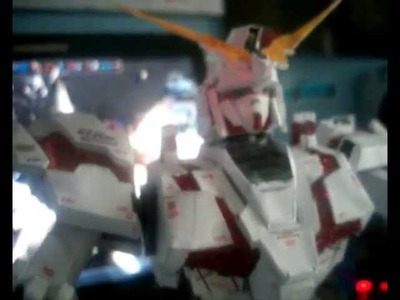 Gundam Unicorn Papercraft