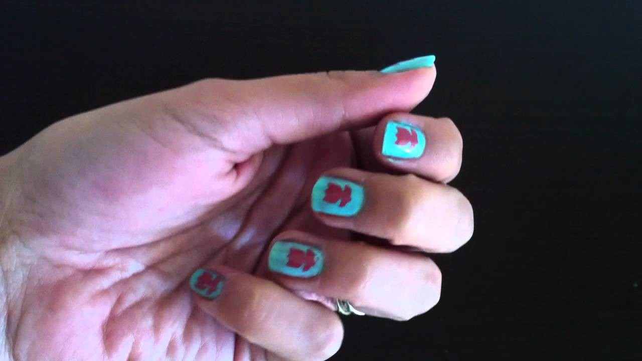 Ideas faciles para uñas - Scrapbook Nails