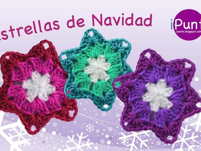 Tutorial: Estrella de Navidad a crochet