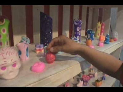 Velas Aromaticas Decorativas Mara Diseño Espacio Salpro 2009