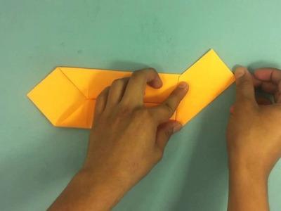 Caja de origami - Manualidades de papel
