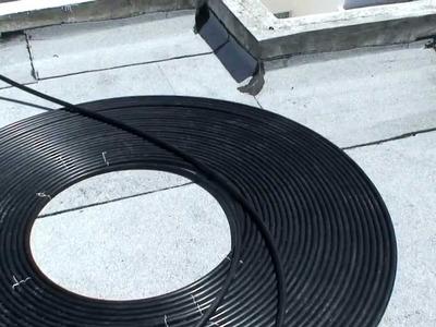 Calentador Solar de agua hecho en casa DIY